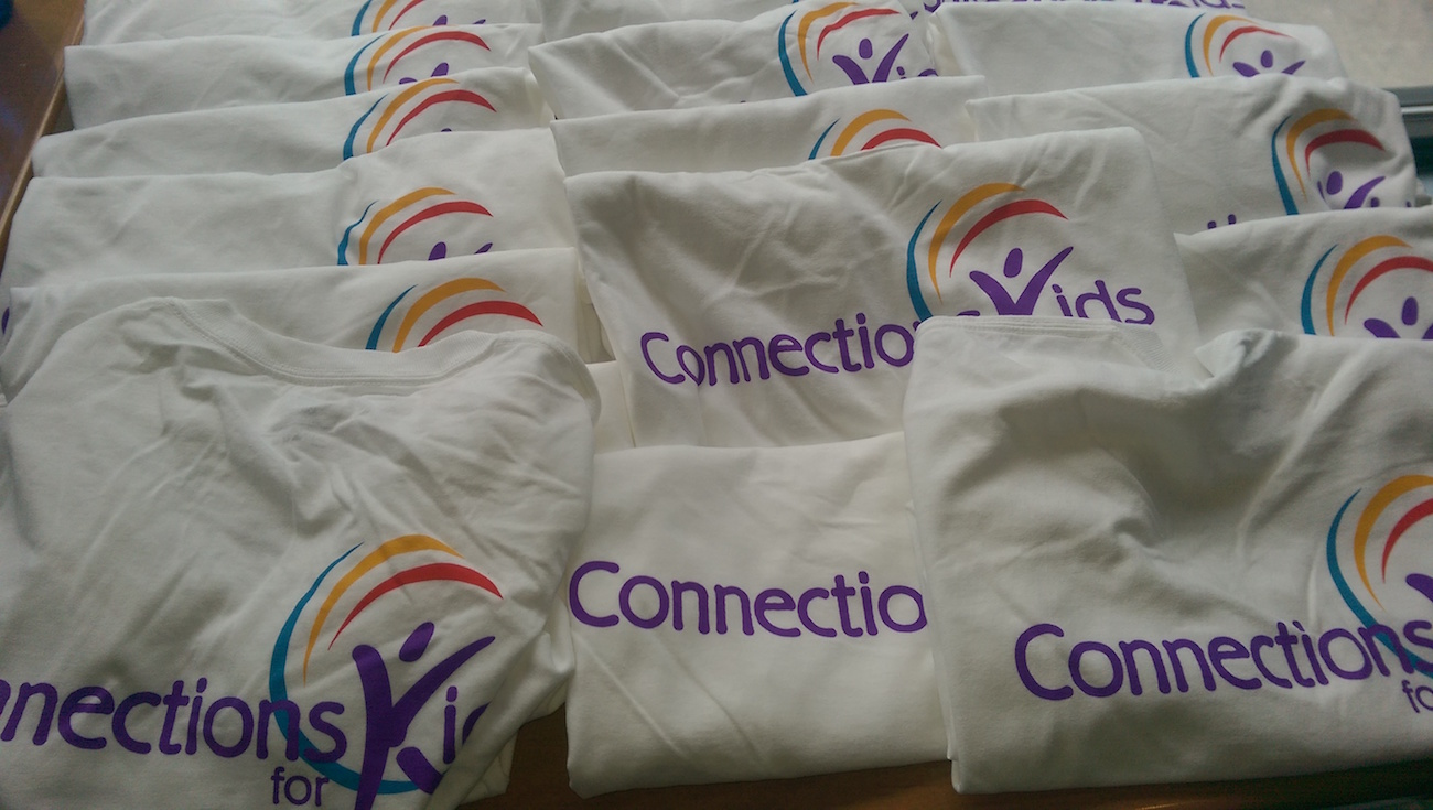 picture of connections for kids tee shirts